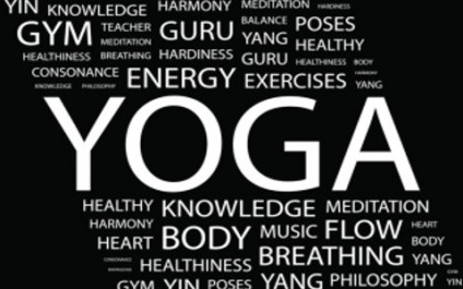 Get going with a yoga glossary!